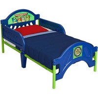 Delta Nickelodeon Teenage Mutant Ninja Turtles Toddler Bed, Blue - Walmart.com