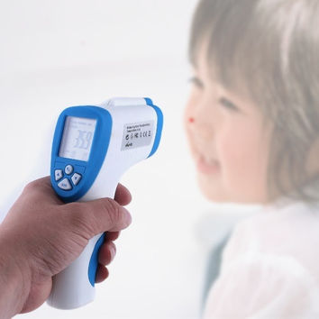 Digital LCD Forehead Surface Infrared Baby Thermometer  Home & Tools H1778 = 1652807748