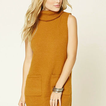 Contemporary Marled Turtleneck