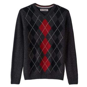 Silver Lake Argyle Sweater   Boys 8 20 Size: