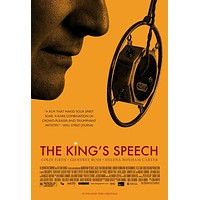 The King's Speech 27x40 Movie Poster (2010)
