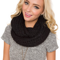 Once Upon A Time Scarf - Black - One Size / Black