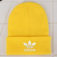 Adidas Fashion Edgy Winter Beanies Knit Hat Cap-18