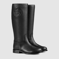 Gucci Children's leather boot