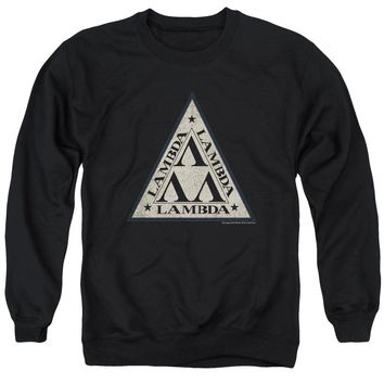 Revenge Of The Nerds - Tri Lambda Logo Adult Crewneck Sweatshirt Officially Licensed Apparel