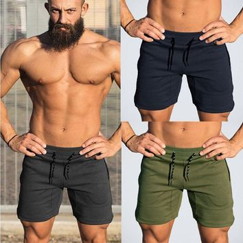Mens Summer Fitness Running Gym Training Sport Home Casual Shorts Joggers