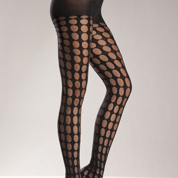 Crotchet Pattern Pantyhose