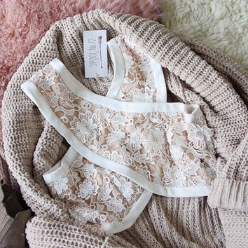 Cross Your Heart Lace Bralette