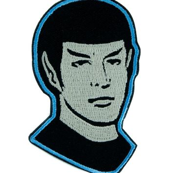 Mr. Spock Son of Sarek Star Trek Patch Iron on Applique Alternative Clothing