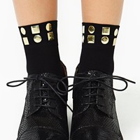 Stud Out Socks