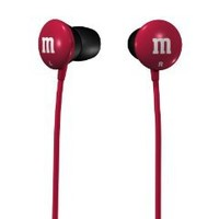 Maxell M&M'S Lightweight Earbuds - Red (190550)