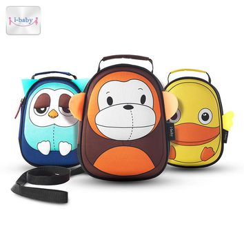 i-baby 3D Animal Design Harnesses Baby Kids Leash Toddler Waterproof Backpack with Safe Harness, Ages 1+, 6 Colors
