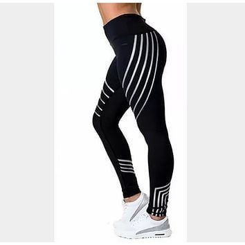 Slim Fit Fitness Leggings Perfect For Workouts F Black