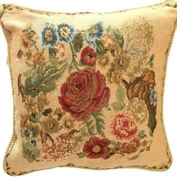 Tache Country Rustic Morning Meadow Throw Pillow Cushion Cover (DB5598CC-B-4545