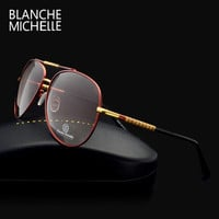 luxury mens polarized sunglasses brand designer 2016 men High quality UV400 fishing sun glasses Gradient Driving mirror With box