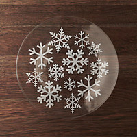 Snowfall Stemless Wine Glasses Set of Four