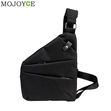 Anti-Theft Men Messenger Bag Multifunctional Crossbody Bag Retro Camouflage Chest Bags Male Cool Motorcycle Sling Shoulder Bags
