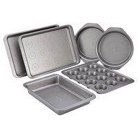 Cake Boss Basics Bakeware Nonstick 6 Piece Bakeware Set
