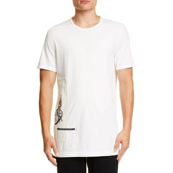 Rick Owens DRKSHDW Level Patch S/S Tee