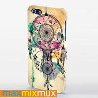 Colourful Dream Catcher iPhone 4/4S, 5/5S, 5C Series Full Wrap Case