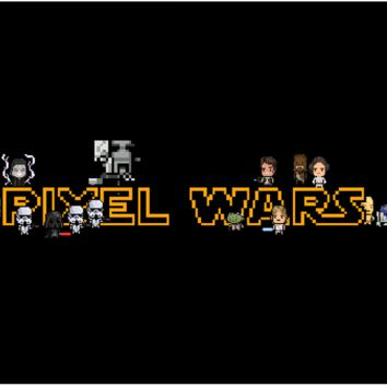 Pixel Wars Laptop Skin (Black)
