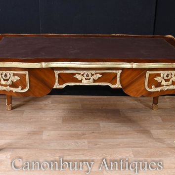 Canonbury - Large French Empire Bureau Plat Desk Writing Table