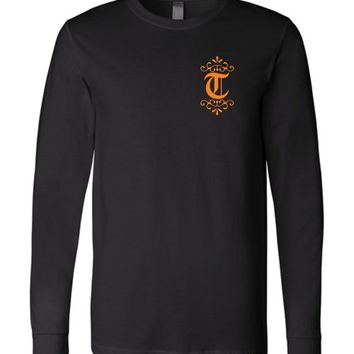 Official NCAA University of Tennessee Volunteers, Knoxville Vols UT UTK Women's Long Sleeve T-Shirt - 35TN-20-b