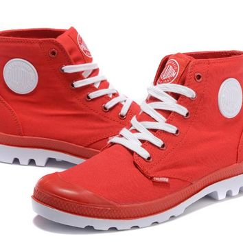 Palladium Pampa Hi Originale Tx High Boots Red White