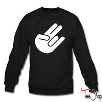 Shocker Sign crewneck sweatshirt