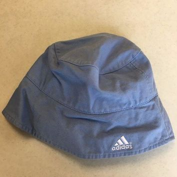 6a159517aa7 BRAND NEW ADIDAS LIGHT BLUE BUCKET HAT SMALL MEDIUM SHI