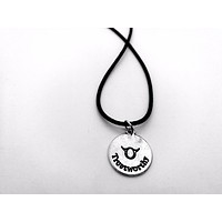 Zodiac Taurus Necklace Rope Necklace