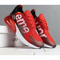 Nike Air X Supreme Trending Women Men Casual High Help Sport Running Shoe Sneakers Red I-SSRS-CJZX