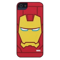 Marvel Comic Face Case for iPhone 5 /5s /SE - Iron Man