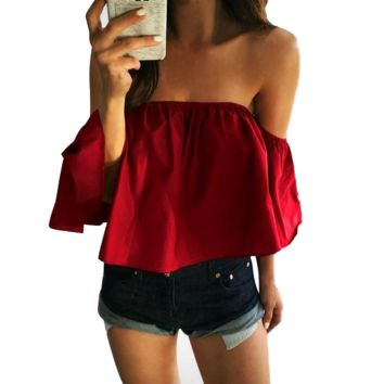 Hanging By A Thread Off Shoulder Top