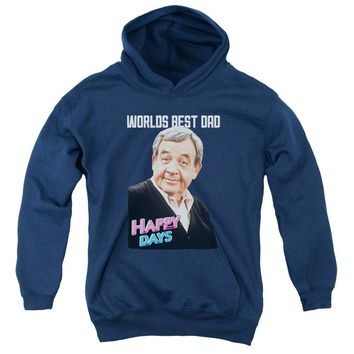 Happy Days - Best Dad Youth Pull Over Hoodie
