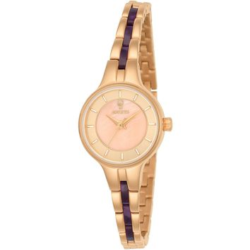 Invicta Women's 23322 Gabrielle Union Quartz 3 Hand Rose Gold Dial Watch