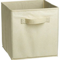White Closet Storage Box Office Room Dorm Fit Easy Home Organizer Drawer Fabric
