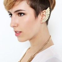 Metallic Wing Ear Cuff | MakeMeChic.com