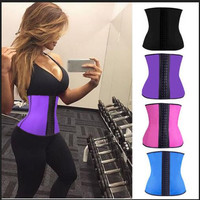 Women Neoprene Waist Trainer Tummy Fat Burner An Hourglass Body Shaper Faja Corset and Bustiers Slimming Belt Modeling Girdles