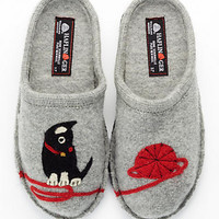 Haflinger Novelty Kitty Slippers Shoes KITTY at BareNecessities.com