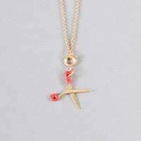 Shop the Tiny Scissors Necklace in Lipstick online - Minx - Clothe, Adorn, Empower, Provide