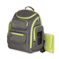 Jeep Places & Spaces Backpack Diaper Bag - Grey/Green