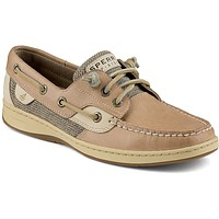 Women's Ivyfish Boat Shoe in Linen/Oat by Sperry - FINAL SALE