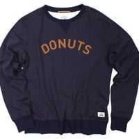 Altru Apparel Donuts Crew Neck Terry Sweatshirt with felt applique (2XL only)
