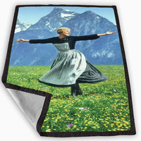 29 sound of music Blanket for Kids Blanket, Fleece Blanket Cute and Awesome Blanket for your bedding, Blanket fleece **