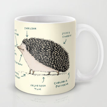 Anatomy of a Hedgehog Mug by Sophie Corrigan