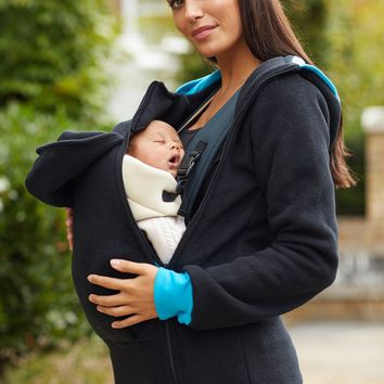 Cozy Fleece Babywearing Coat
