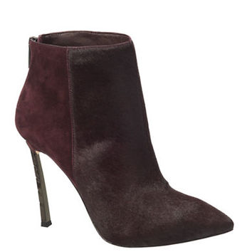 Sam Edelman Sandy Haircalf High-Heel Booties