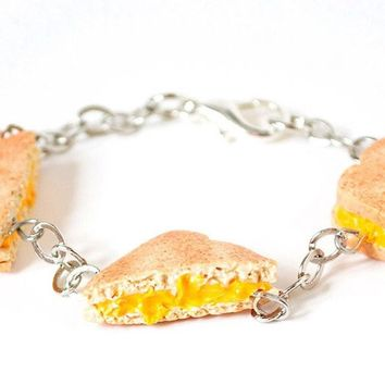 Grilled Cheese Sandwiches Bracelet