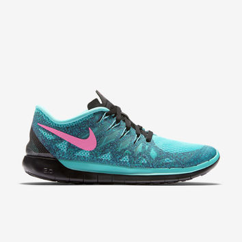 Nike Free 5.0 Women's Running Shoes - Hyper Jade